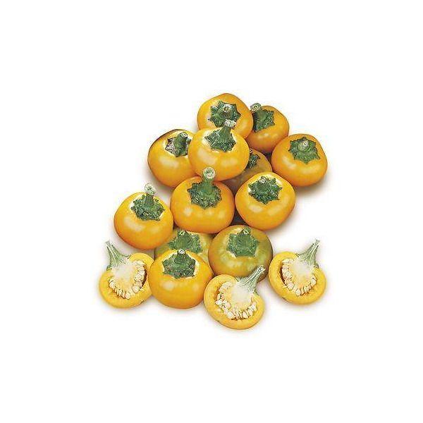 Peperone piccante ciliegia giallo