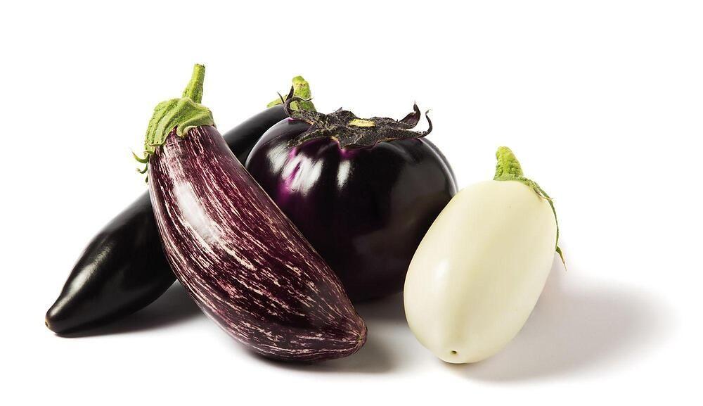 Le migliori varietà di melanzante: bianca, violetta ...
