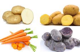 Patate, carote, ravanelli