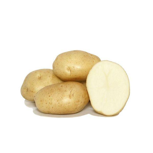Patata a pasta bianca